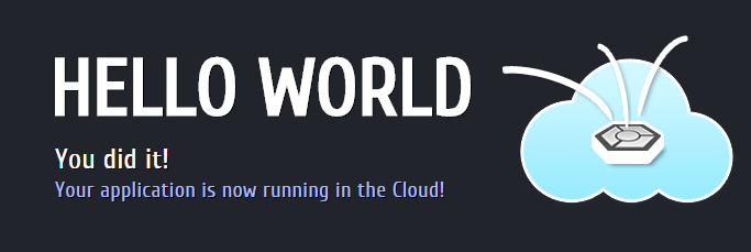 Hello-world-unicloud