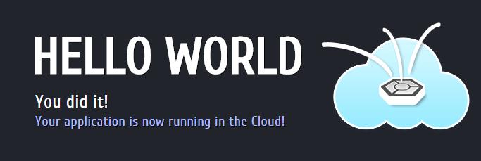 Hello-world-unicloud