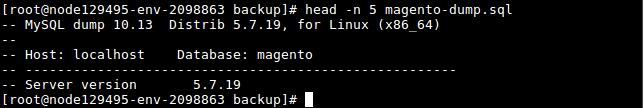 Baza danych Magento